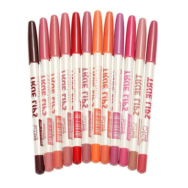 6Pcs/set Pencil Lip Waterproof Lasting