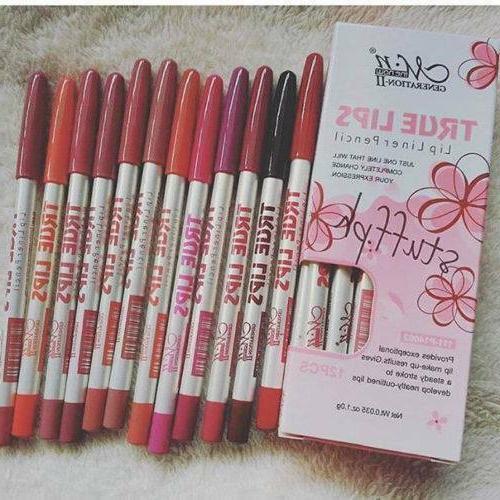 6Pcs/set Pencil Matte Lip Lasting