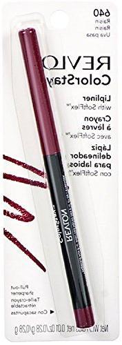 Revlon Color Stay Lip Liner with SoftFlex, Raisin  1 ea