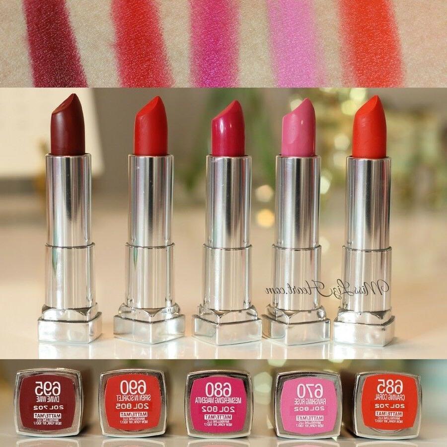 color sensational lipcolor lipstick choose your color