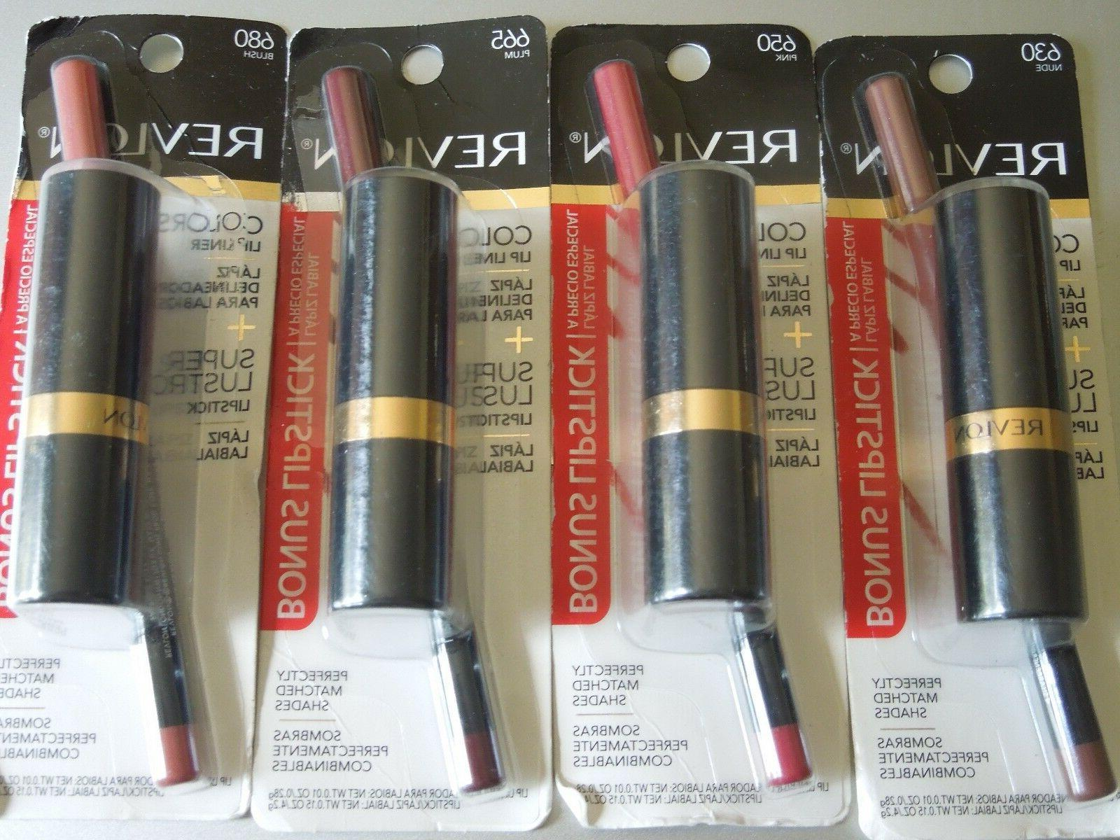 colorstay lip liner with bonus lipstick choose