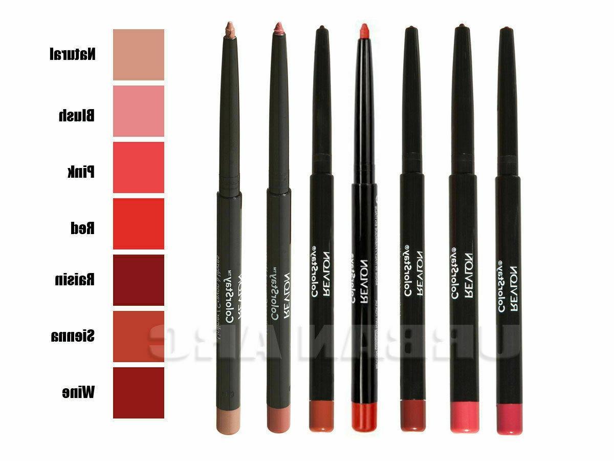 Revlon Lip with Sharpener Many Shades Choose New