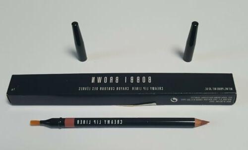 creamy lip liner pencil w brush nude