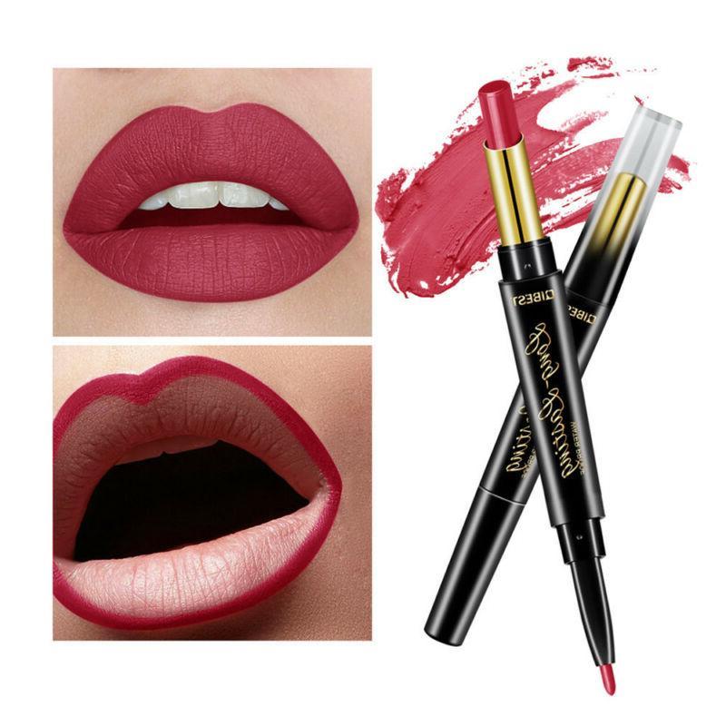 QIBEST Lipstick Pen Liner Lasting~