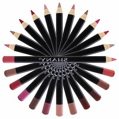 SHANY Dozen Lip Liner 12 Velvet Pens