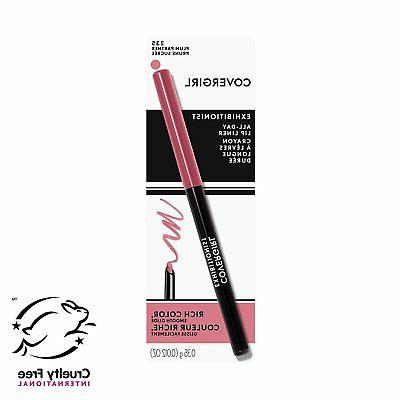 exhibitionist lip liner uncarded rosewood 215 0