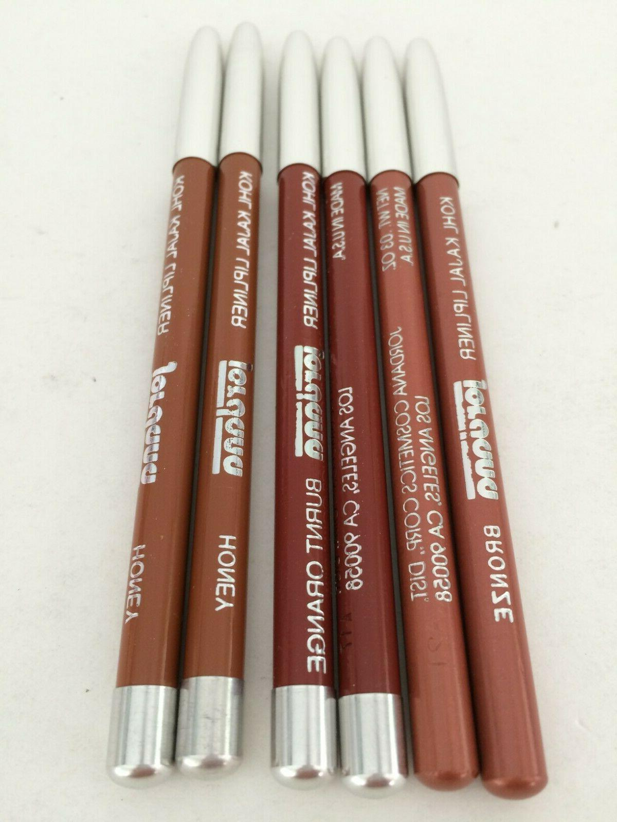 kohl kajal lip liner pencil 5 color
