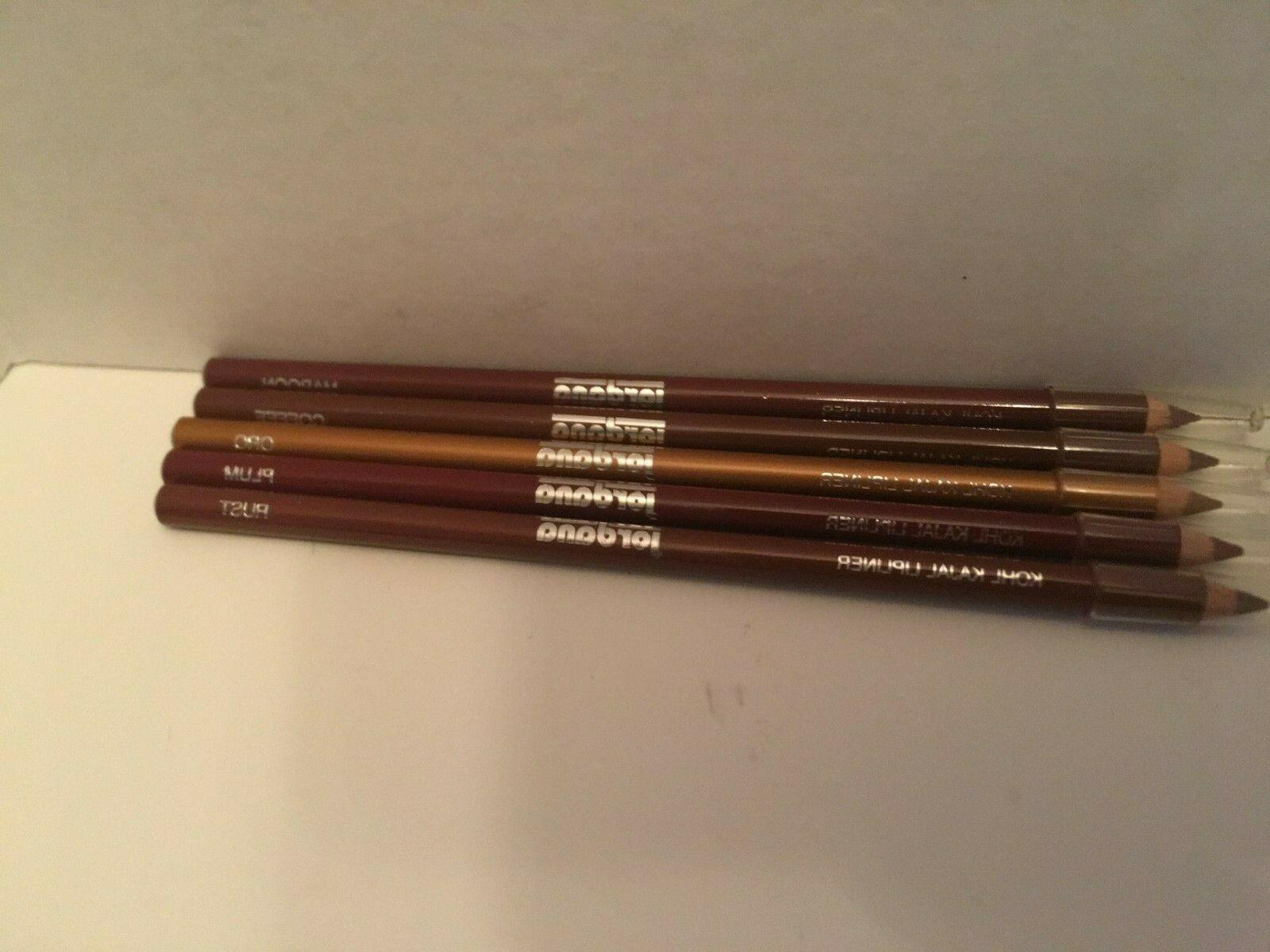 kohl lip liner gold plum rust maroon