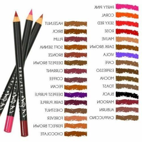 l a girl matte lip liner pencil