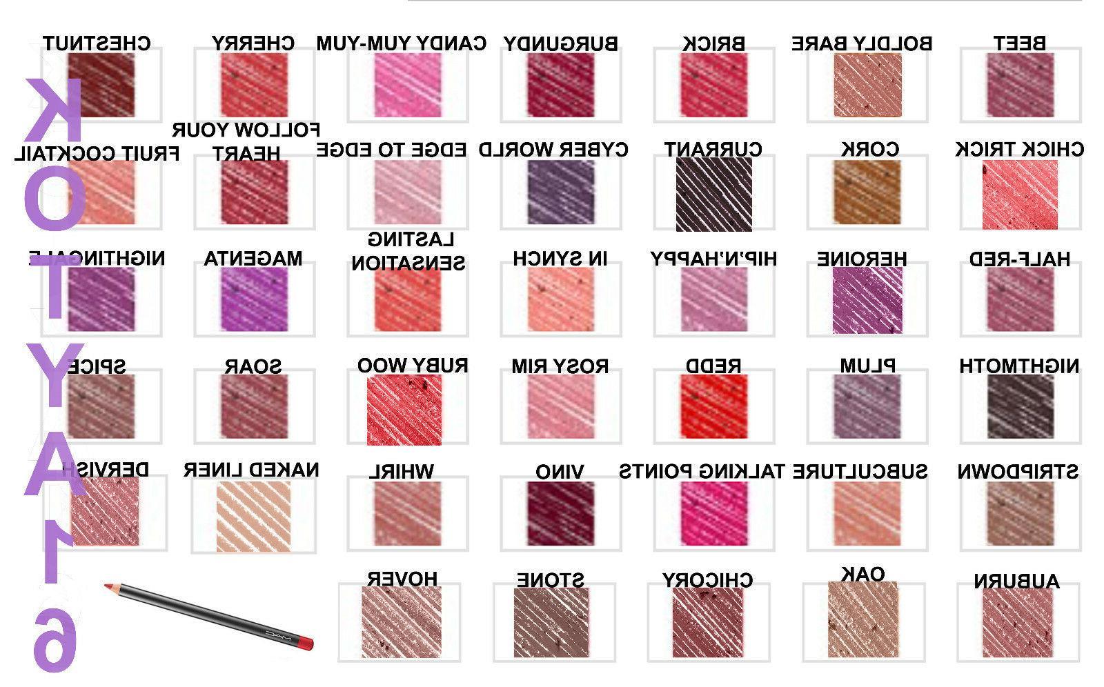 Authentic Cosmetics pencil lip liner lipliner