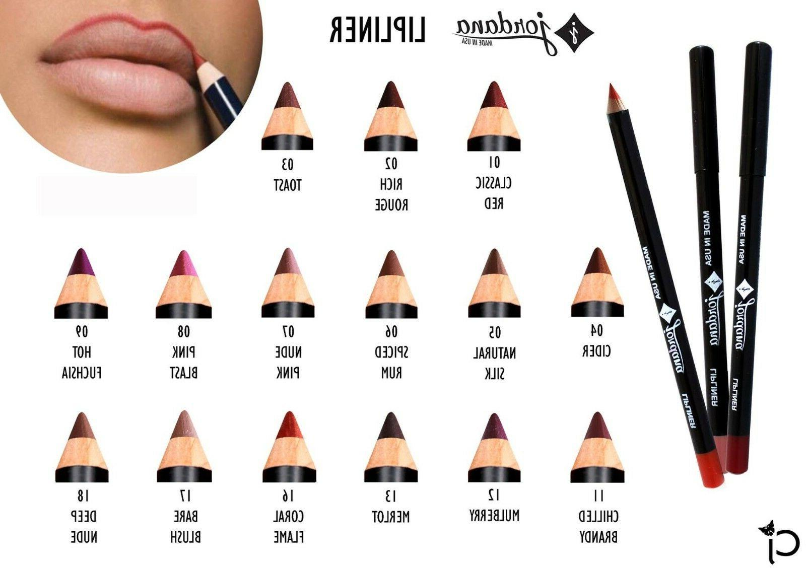 JORDANA Matte Lip Liner -new in