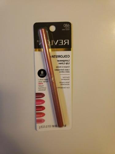 lot of 3 revlon colorstay lip liner