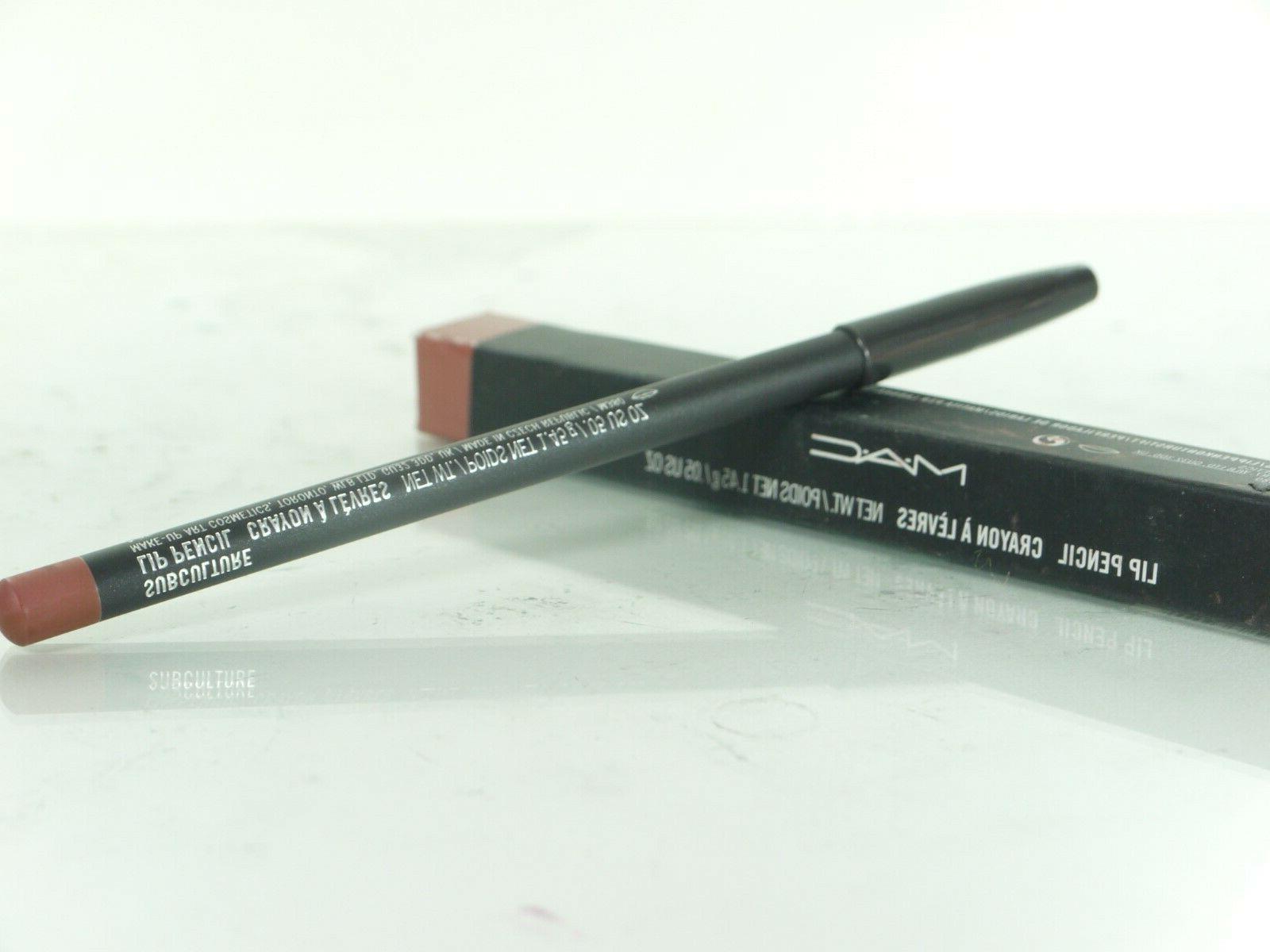 mac lip pencil crayon in subculture 1