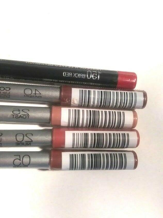 Maybelline ColorSensational Lip Pencil Variety Multi Color Sealed