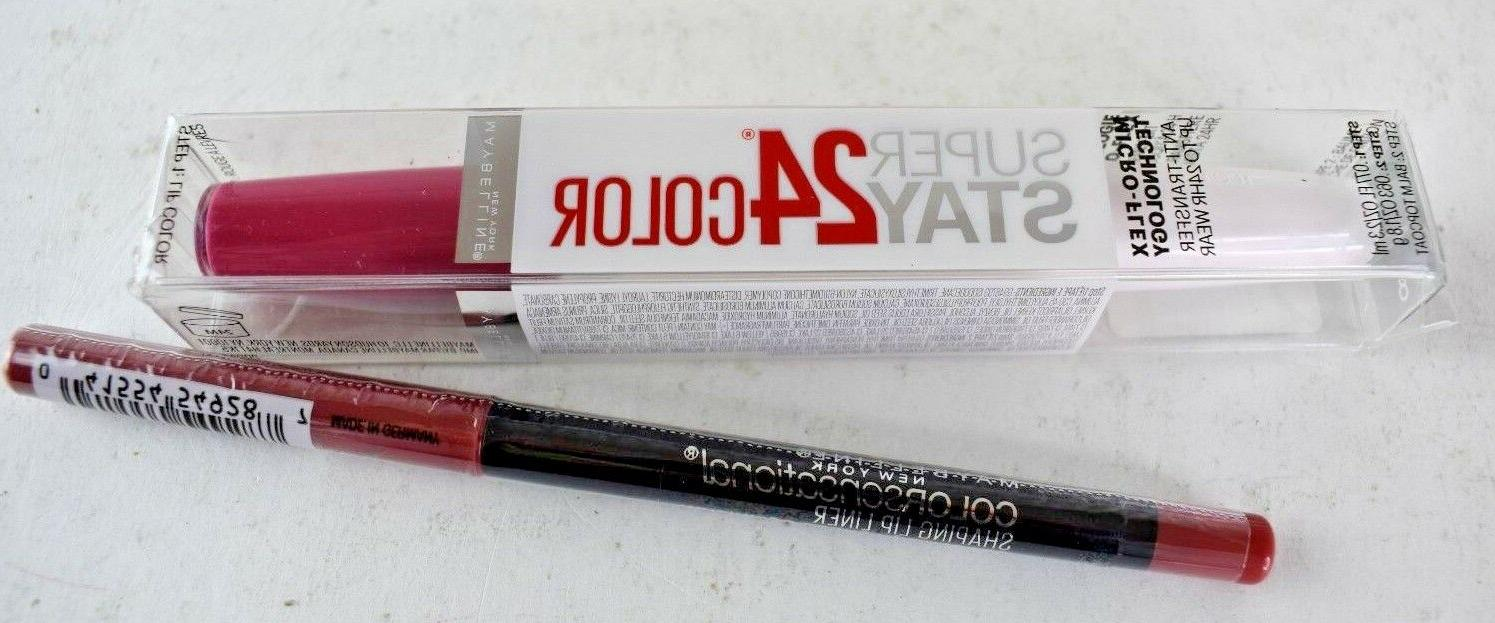 Maybelline Shaping Liner, Almond Scarlet, Step Color