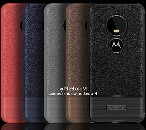 Scheam Motorola Moto E5 Play Case,Full Absorbing Case Compatible Moto Play