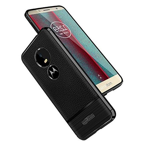 Scheam Play Case,Full Protective Shock Absorbing Slim Case Case Compatible with Moto E5 Play