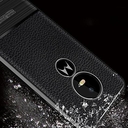 Scheam Moto Play Case,Full Protective Absorbing Slim Case Moto E5