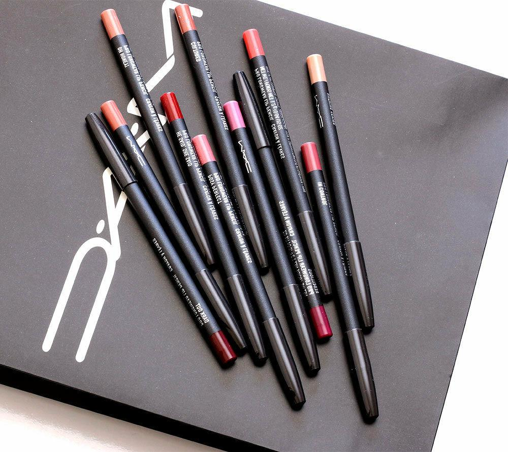 new lip liner pencil makeup various shades