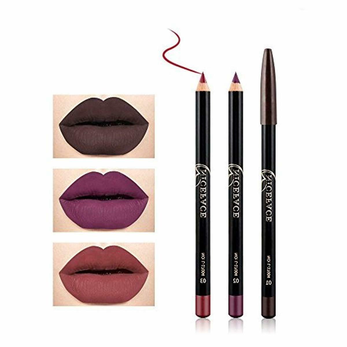 NICEFACE 12 Color Pencil Lip