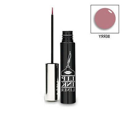 organic smearproof waterproof liquid lip liner berry