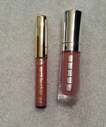 BUXOM Plumpline Lip Liner DOLLY DANGER & Full-On Lip Polish