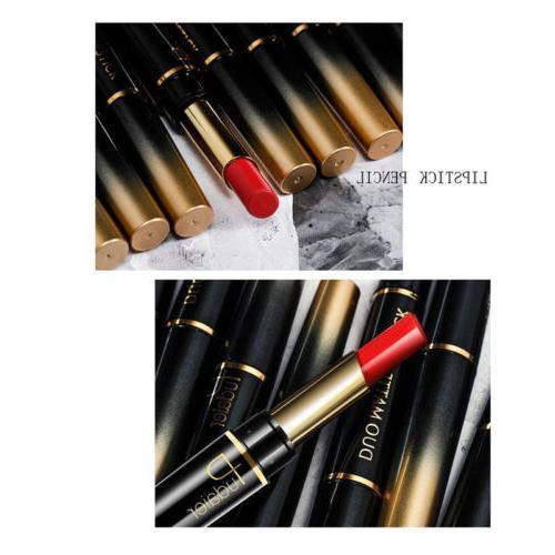 Pudaier 2 1 Lipstick Gloss Stick Matte Lip Liner
