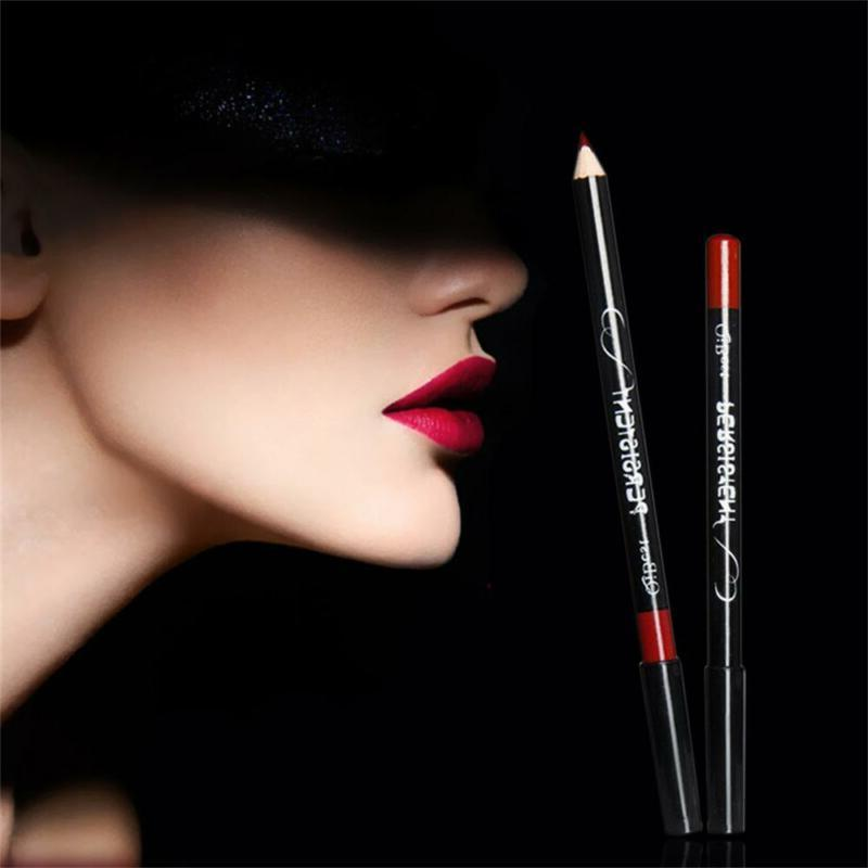 Qibest 12 Professional Waterproof Lip Liner