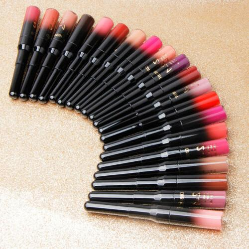 QIBEST Super 24Hour Lipstick Matte Lip 20 Color