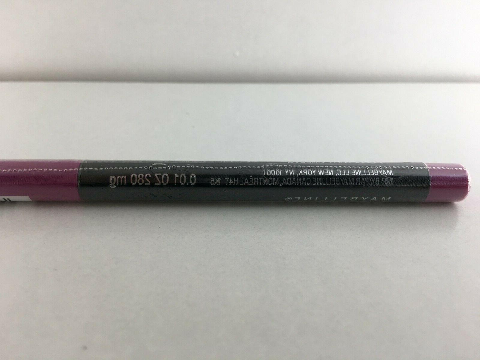 SEALED! Maybelline Color Sensational Lip Liner 155 Violets