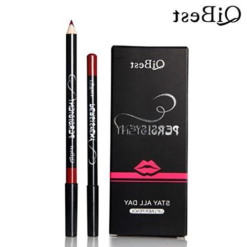 Hunputa 12pcs/Set Waterproof Lip Pencil Long Lasting Lipliner
