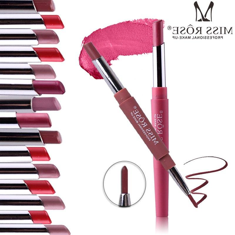 Miss Top <font><b>Lip</b></font> <font><b>Pencil</b></font> Waterproof Lipsticks Sexy Contour Cosmetics