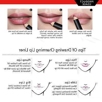US Waterproof Lipstick Long Matte Pencil