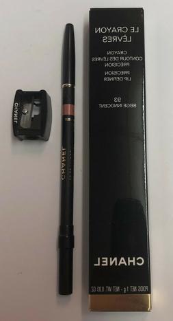 Chanel Le Crayon Levres Precision Lip Definer 93 Beige Innoc