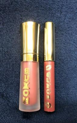 Buxom Lip Cream Mudslide & Plumpline Lip Liner Dolly Danger