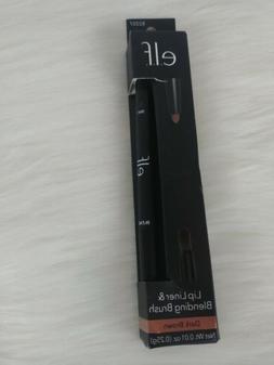 Elf Lip Liner & Blending Brush Dark Brown 82207