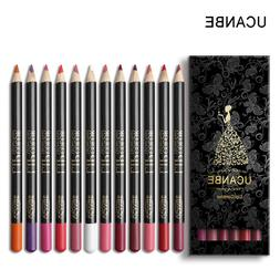 Lip Liner Pencil Makeup Set Kit Natural Waterproof Long Last