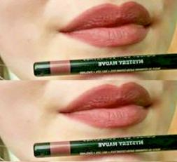 Lot 2 ORIGINAL Avon Glimmerstick Lip Liner MYSTERY MAUVE #N1