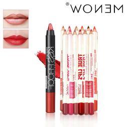 Makeup Set 12 Color Lipliner & Kissproof Lipstick Waterproof