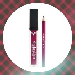 Hard Candy Matte-Aholic Velvet Lip Color & Liner, Berry Chic