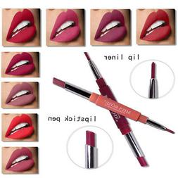Multifunct Waterproof Pencil Lipstick Pen Matte Lip Liner Lo