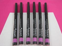 Retractable Waterproof Lip Liner Pen 6 Lip Liners Lot All Co