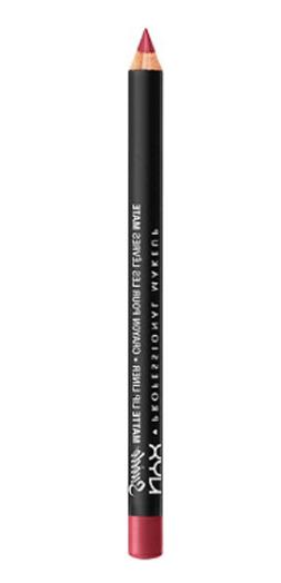 NYX Suede Matte Lip Liner .16 Ounce - Cherry Skies