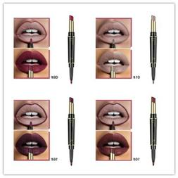 Waterproof Pencil Lipstick Pen Matte Lip Liner Long Lasting