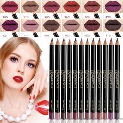 Waterproof Pencil Lipstick Pen Matte Lip Liner Long Lasting